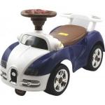 Masinuta fara pedale Bugatti Baby Mix de impins pentru copii albastru