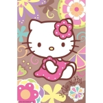 Mini puzzle Hello Kitty 54 piese