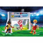 Poarta de fotbal pentru antrenament Playmobil