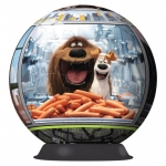 Puzzle 3D Viata secreta a animalelor, 108 piese