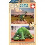 Puzzle Bunul Dinozaur 2 x 50