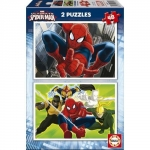 Puzzle Spiderman 2 x 48 Piese
