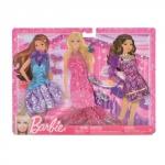 Set 3 rochii de seara Barbie