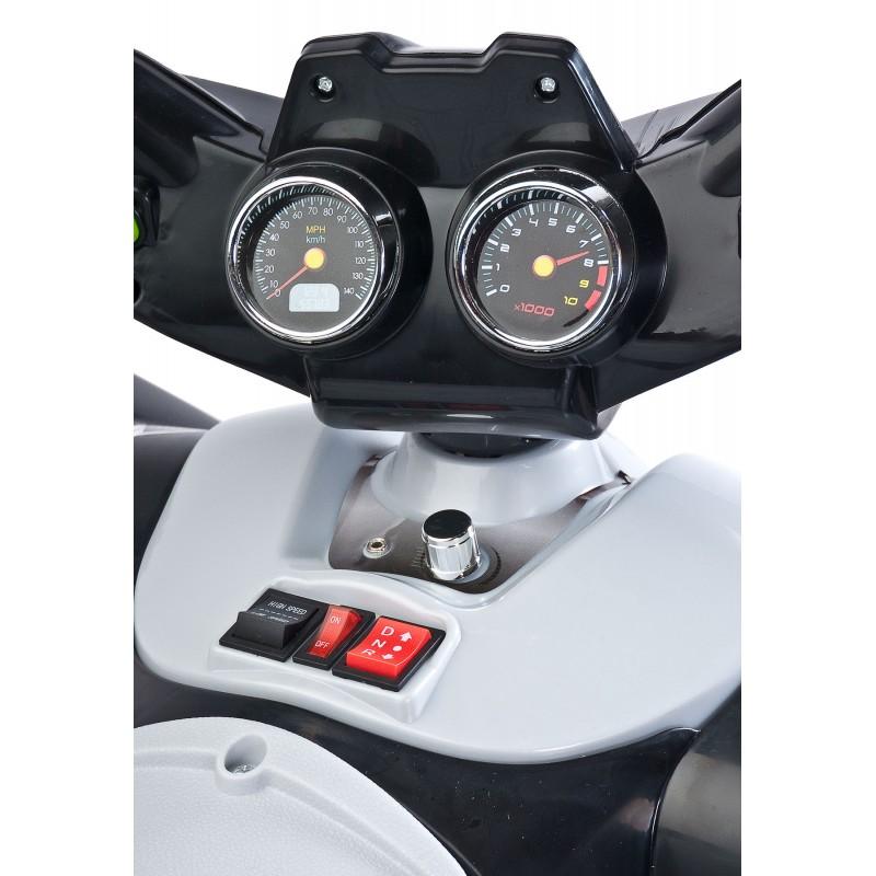 ATV Electric Toyz Raptor 2x6V Black