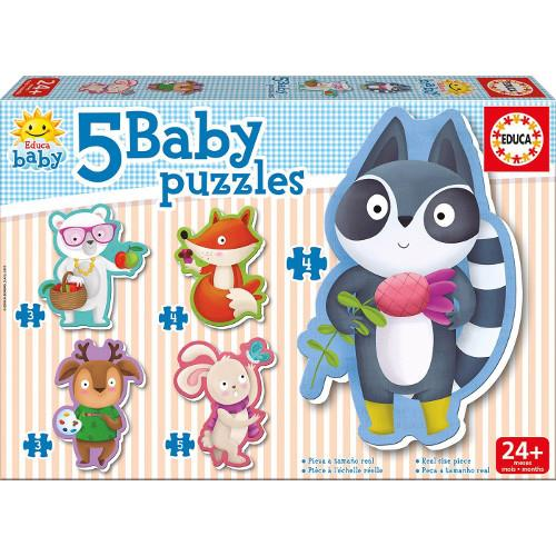 Baby Puzzle Animale