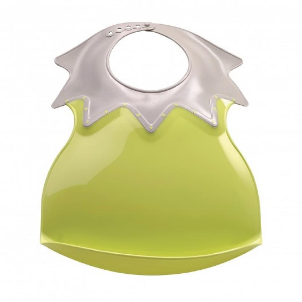 Baveta Bebe Ultra-soft Arlequin Thermobaby-verde