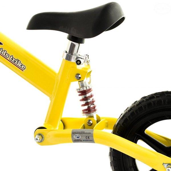 Bicicleta fara pedale EurBaby FBB-1 Galbena