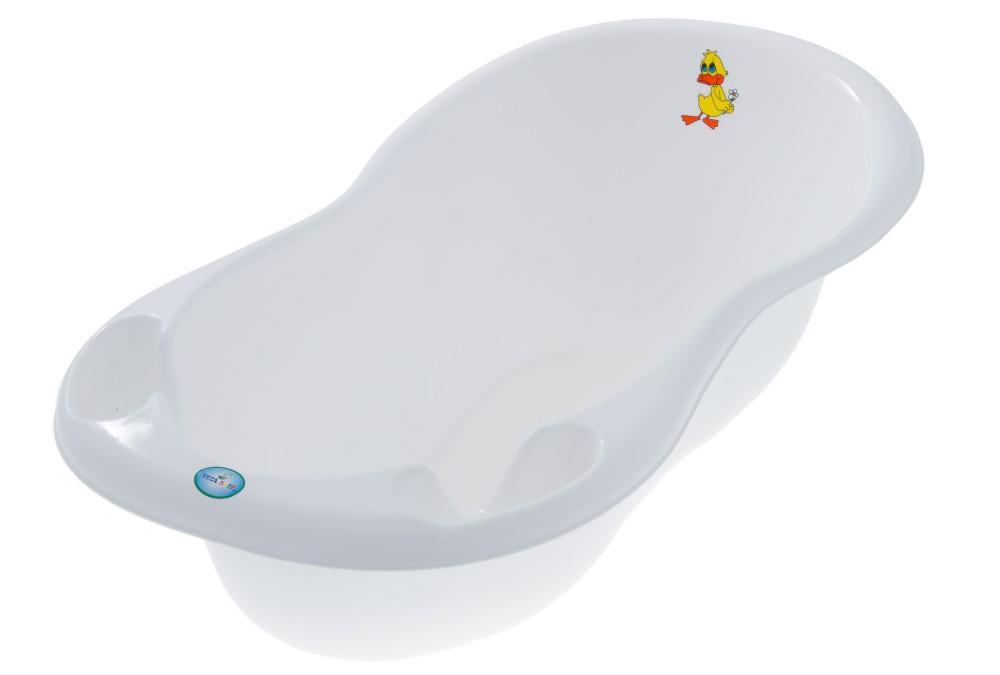 Cadita Tega Baby Ratusca 102 cm Alba cu senzor de temperatura