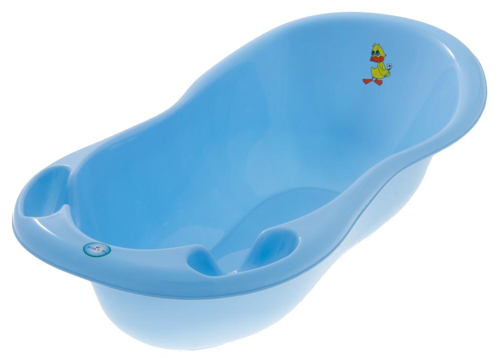 Cadita Tega Baby Ratusca 102 cm Albastra cu senzor de temperatura