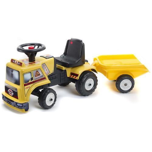 Camion Baby Chantier cu Remorca