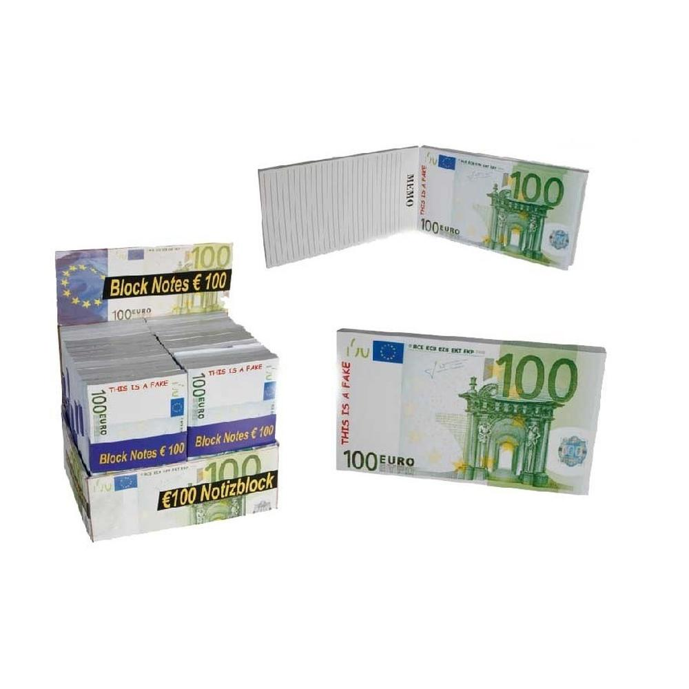 Carnetel forma bancnota 100 Euro, Radar 29299, 1 buc