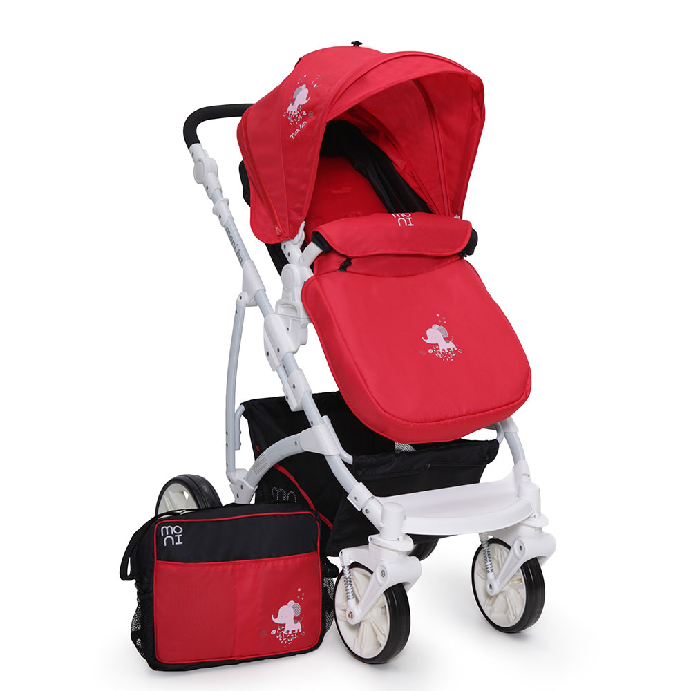 Carucior 3 in 1 Tala Red