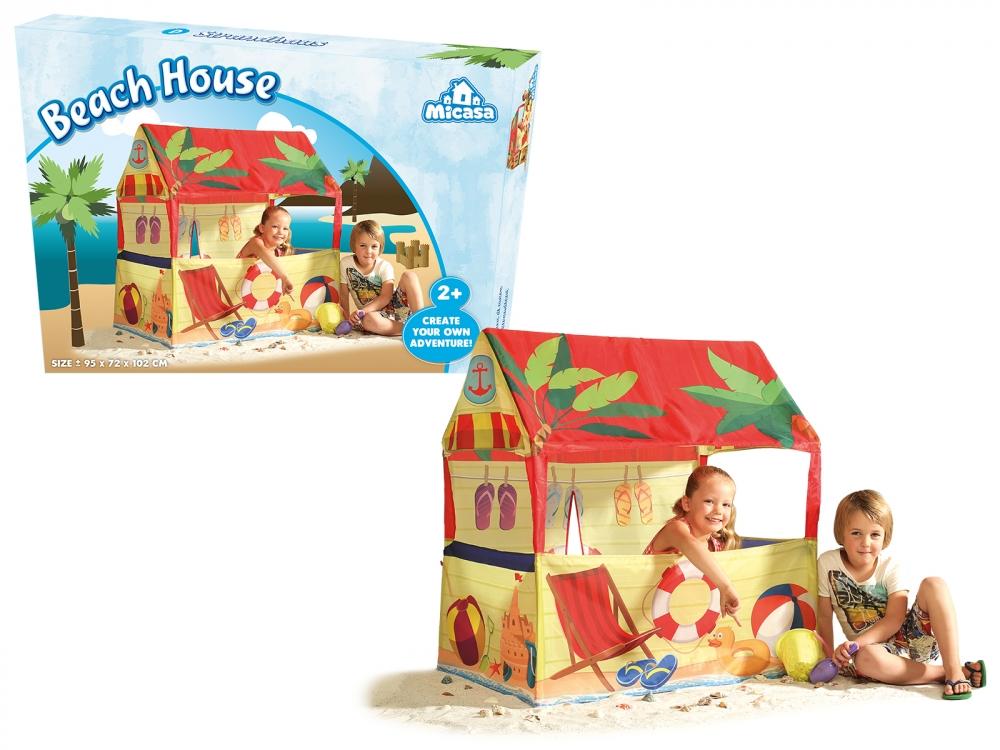Cort de joaca - Casa de pe plaja