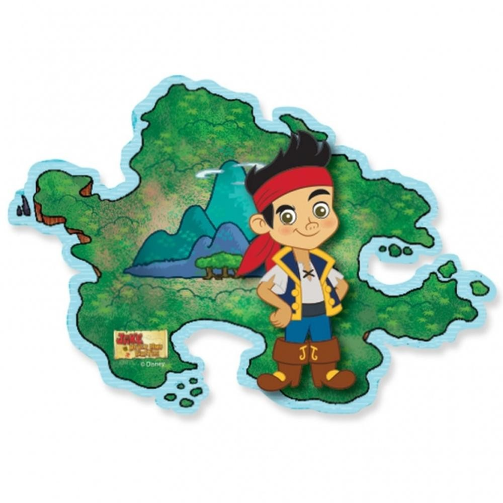 Joc Party Disney  Jake  Neverland Pirate Island Hopping, Amscan 996856