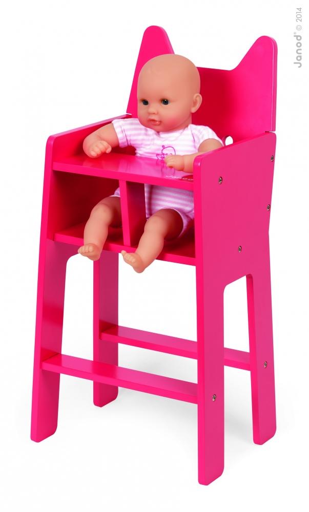 Jucarie din lemn - scaun bebelus - Pisicuta  - J05896