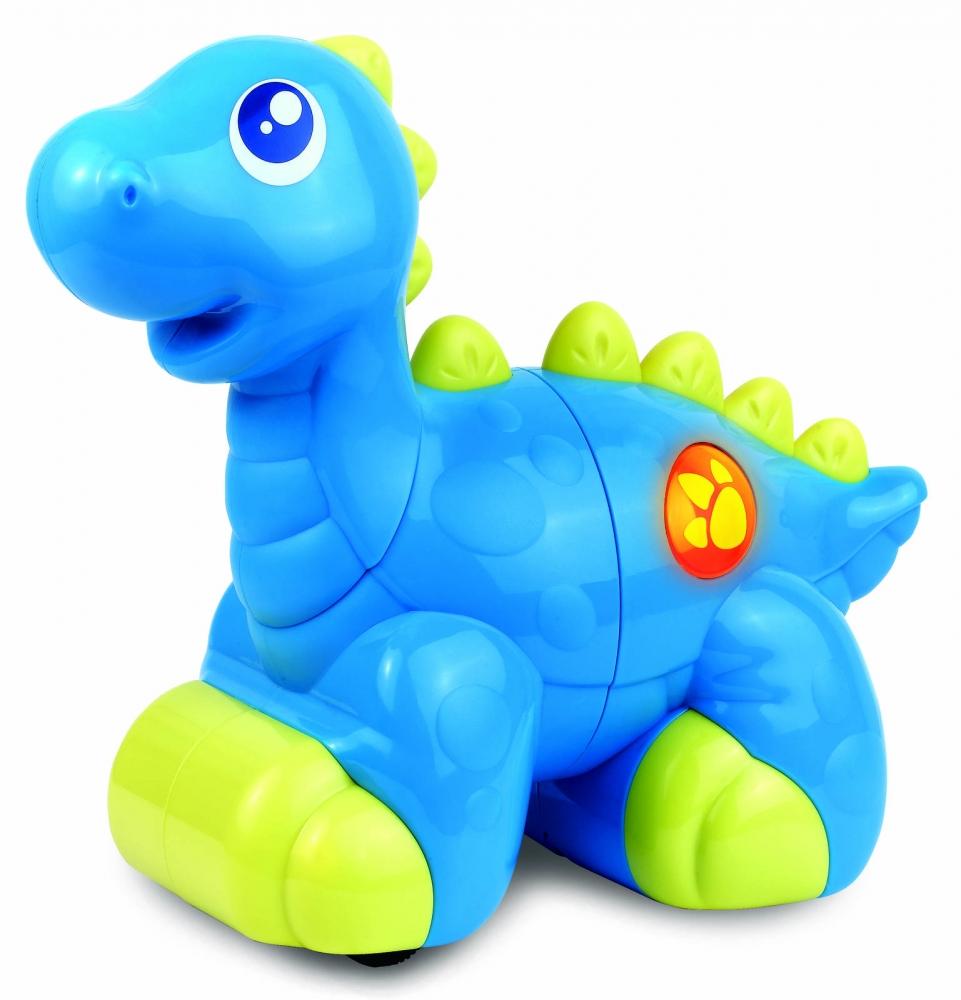 Jucarie interactiva  Dinozaur prietenos (Albastru)