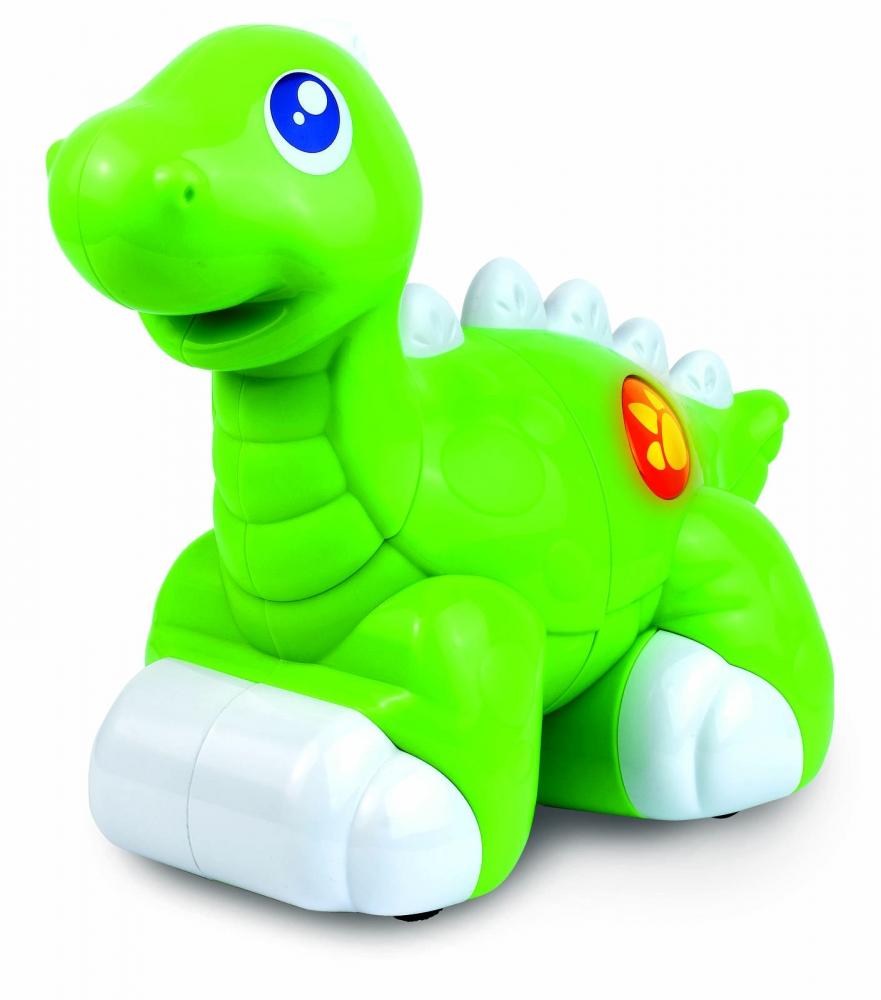 Jucarie interactiva  Dinozaur prietenos (Verde)