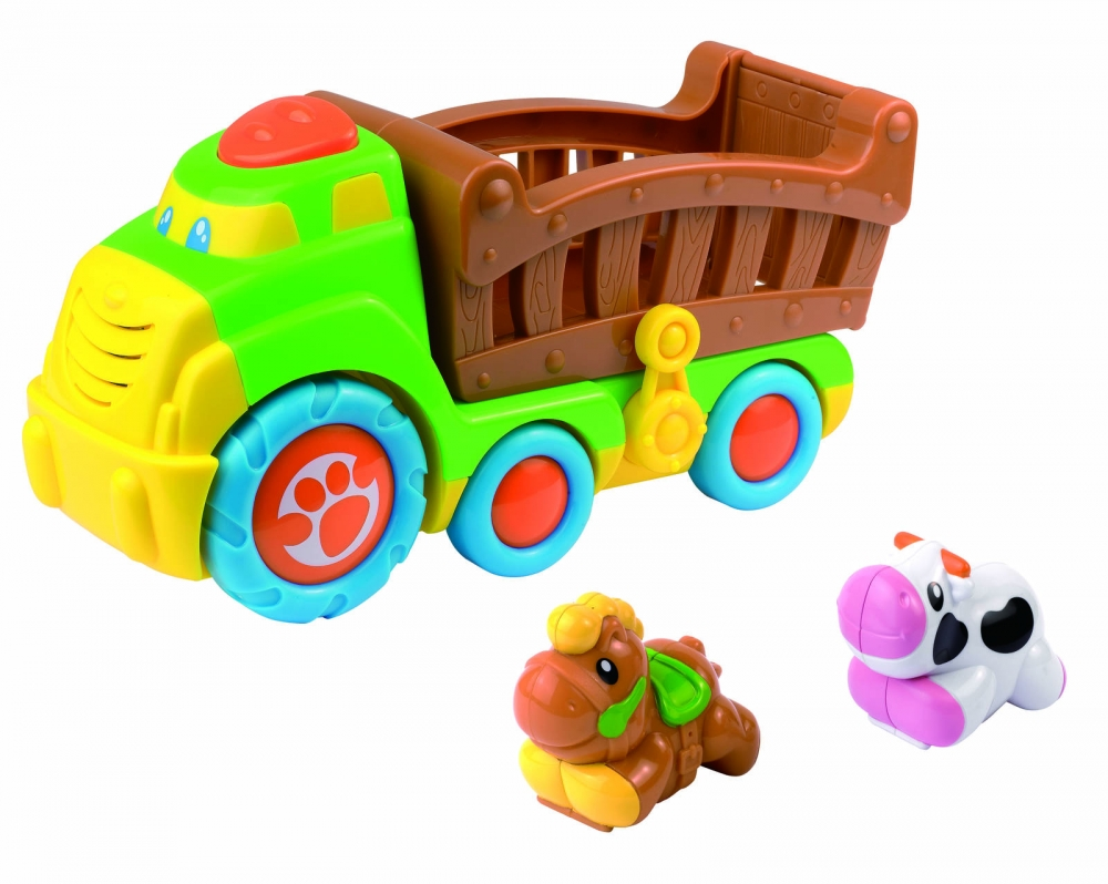 Jucarie muzicala  Camionul de la ferma