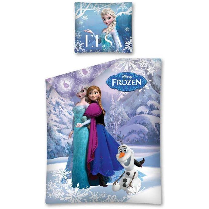 Lenjerie de pat Frozen 160 x 200cm FRO04DC