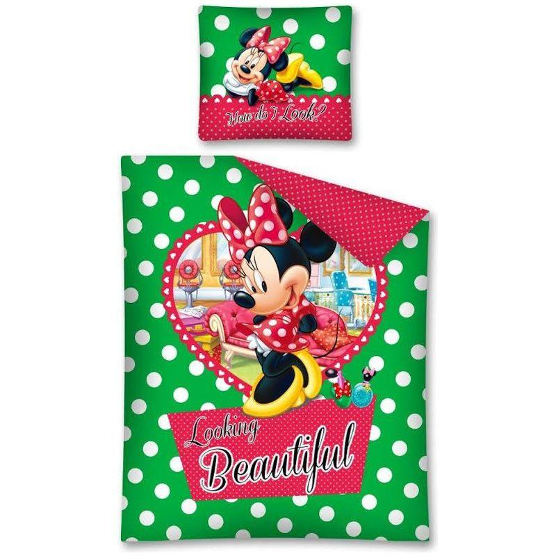 Lenjerie de pat Minnie Mouse 160 x 200cm STC12A