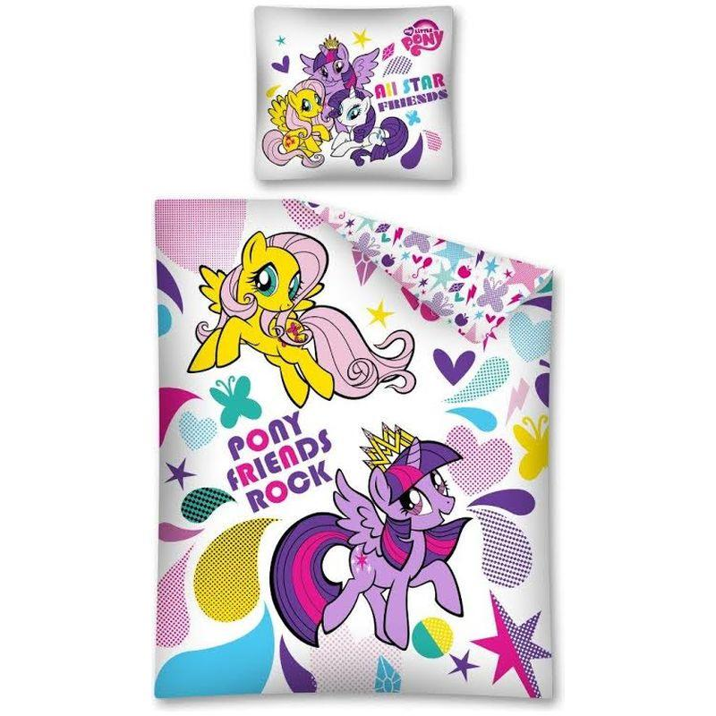 Lenjerie de pat My Little Pony 140 x 200cm MLP22DC