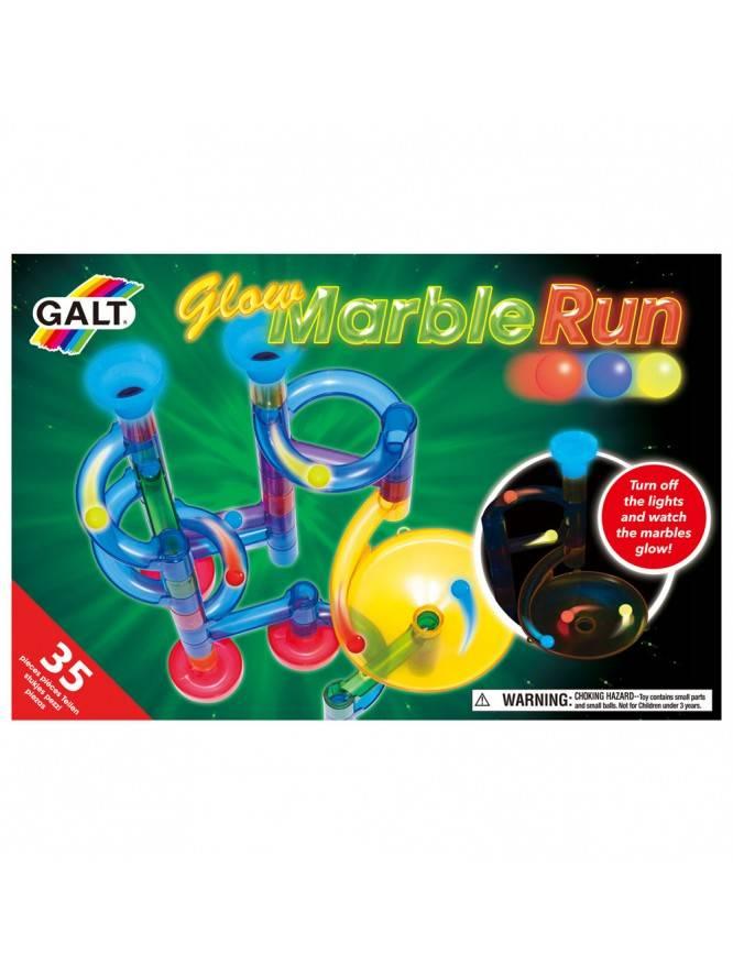 Marble Run – Set reflectorizant – 35 piese