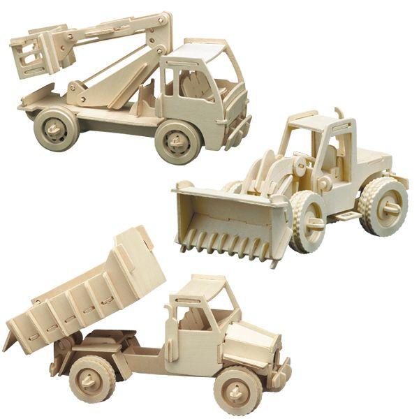 Masini de lucru din lemn