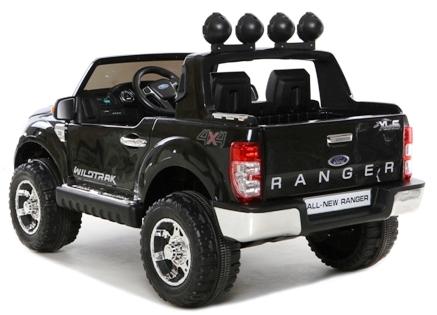Masinuta electrica cu roti eva si telecomanda Ford Ranger Black imagine
