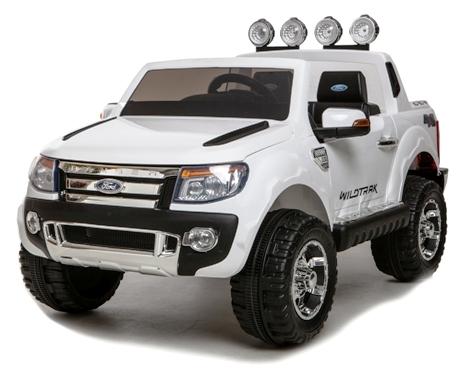 Masinuta Electrica Ford Ranger 659 Alba 12v
