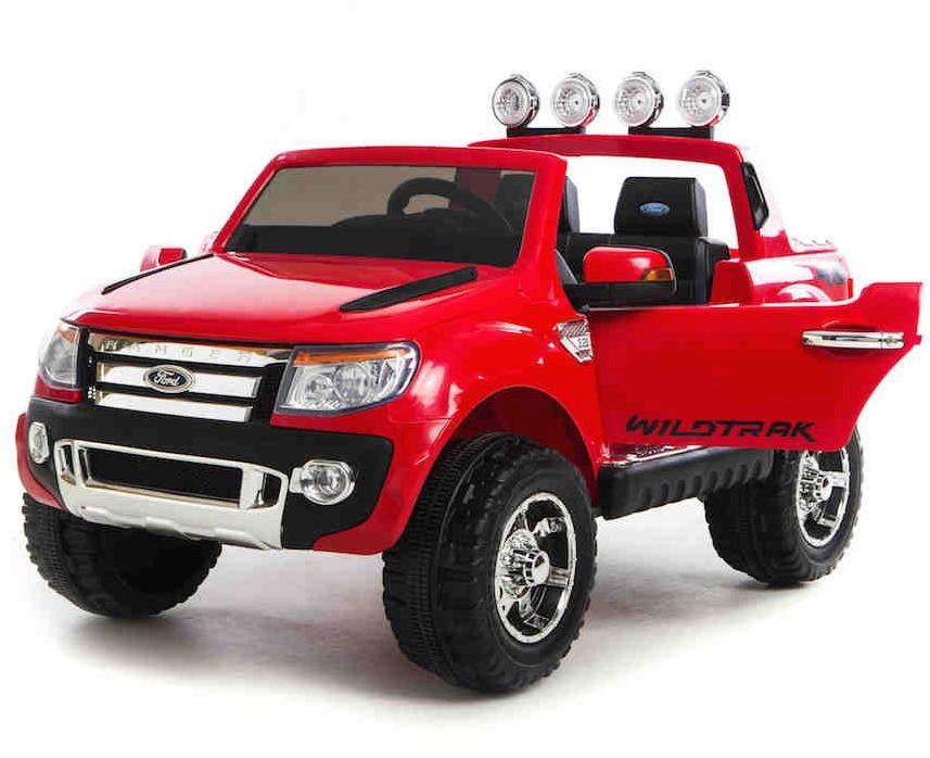 Masinuta Electrica Cu Roti Eva Si Telecomanda Ford Ranger Red