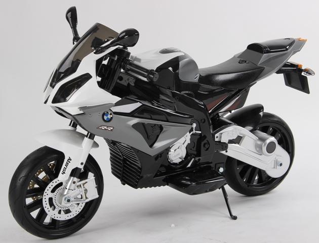 Motocicleta electrica BMW S1000RR 12V Neagra - 1
