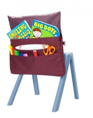 Organizator pentru scaun Rosu