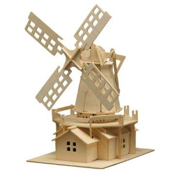 Puzzle 3D Moara de vant