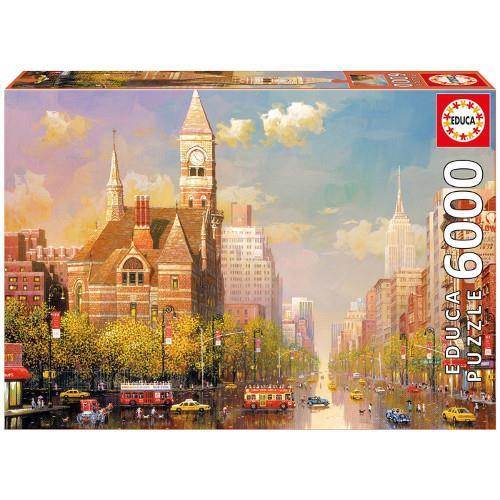 Puzzle 6000 Piese New York Afternoon, Alexander Chen