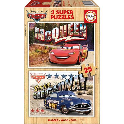 Puzzle Cars 2x25