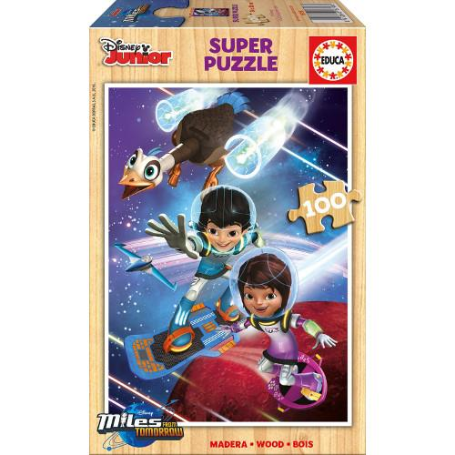 Puzzle din Lemn Miles From Tomorrowland 100 piese