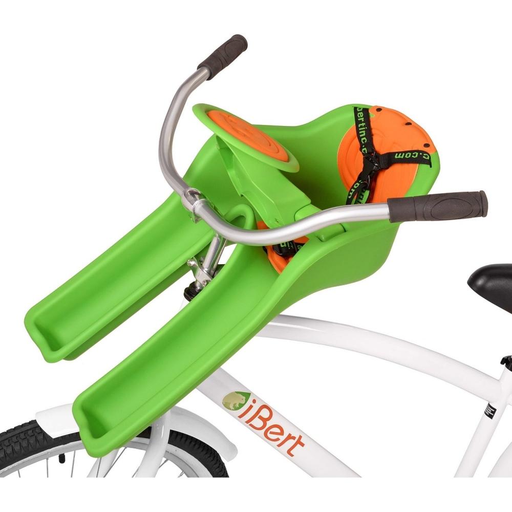 Scaun de bicicleta Safe-T-Seat Verde iBert IBGR
