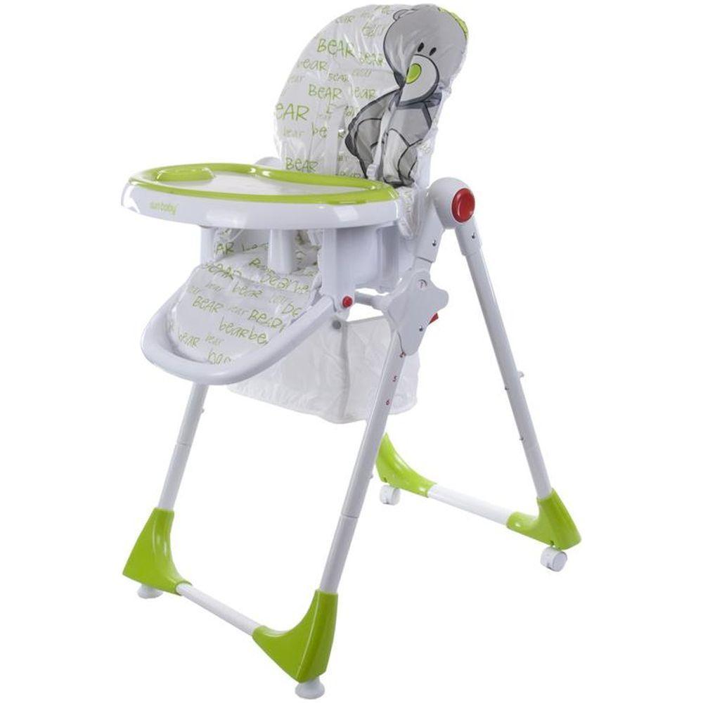 Scaun de masa Comfort Lux Sun Baby Verde
