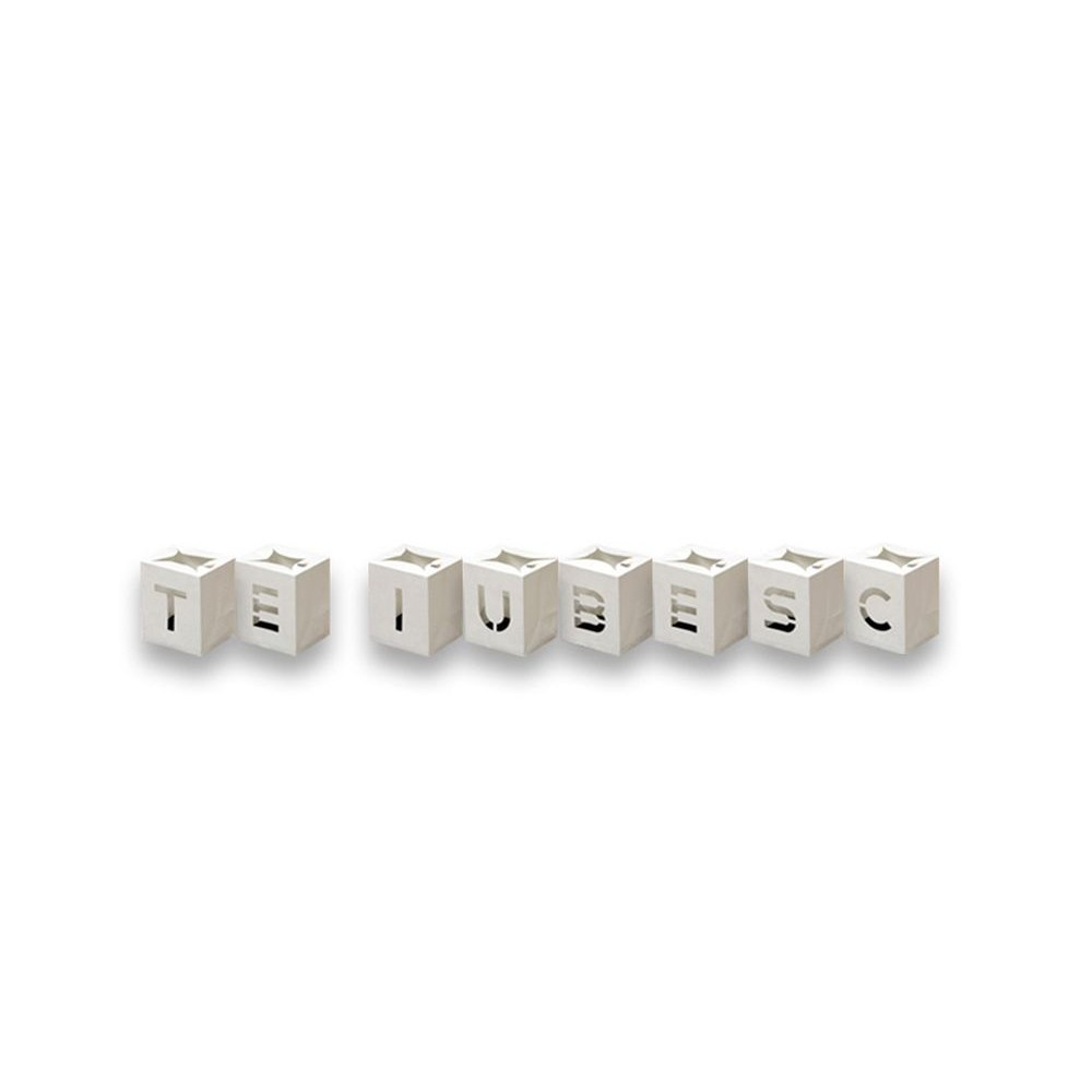 Set lampioane decorative - Te Iubesc, Radar 0401, 8 bucati