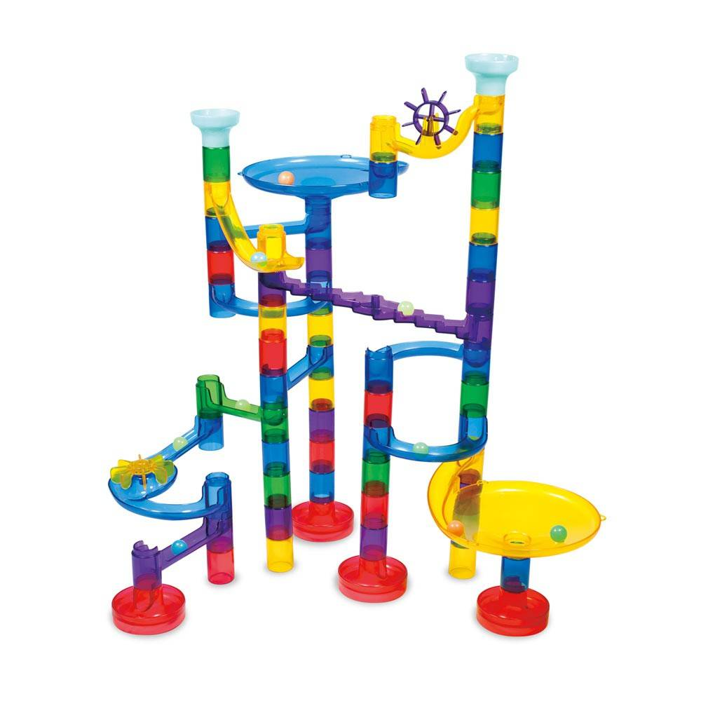 Super Marble Run – Set reflectorizant – 60 piese