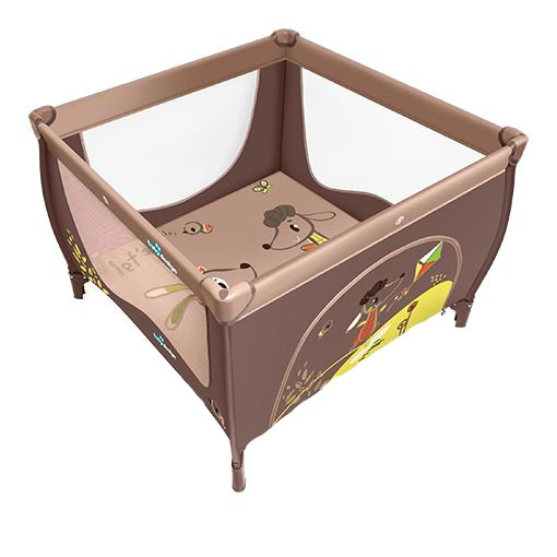 Tarc de joaca Baby Design Play Brown 2016