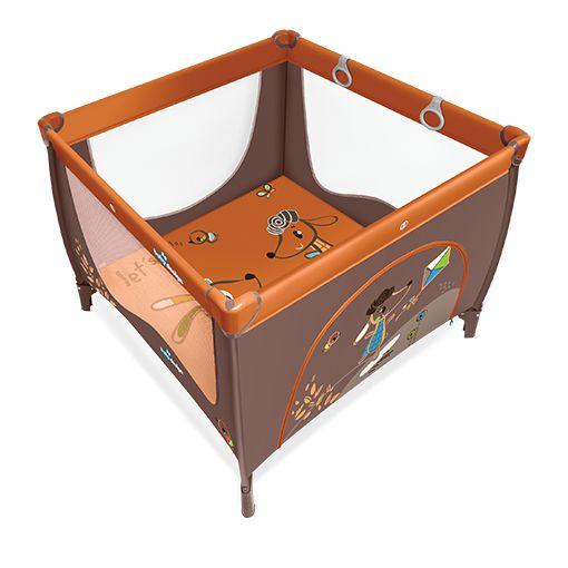 Tarc de joaca Baby Design Play UP Orange cu inele ajutatoare 2016