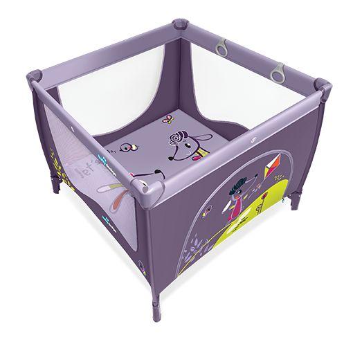 Tarc de joaca Baby Design Play UP Purple cu inele ajutatoare 2016