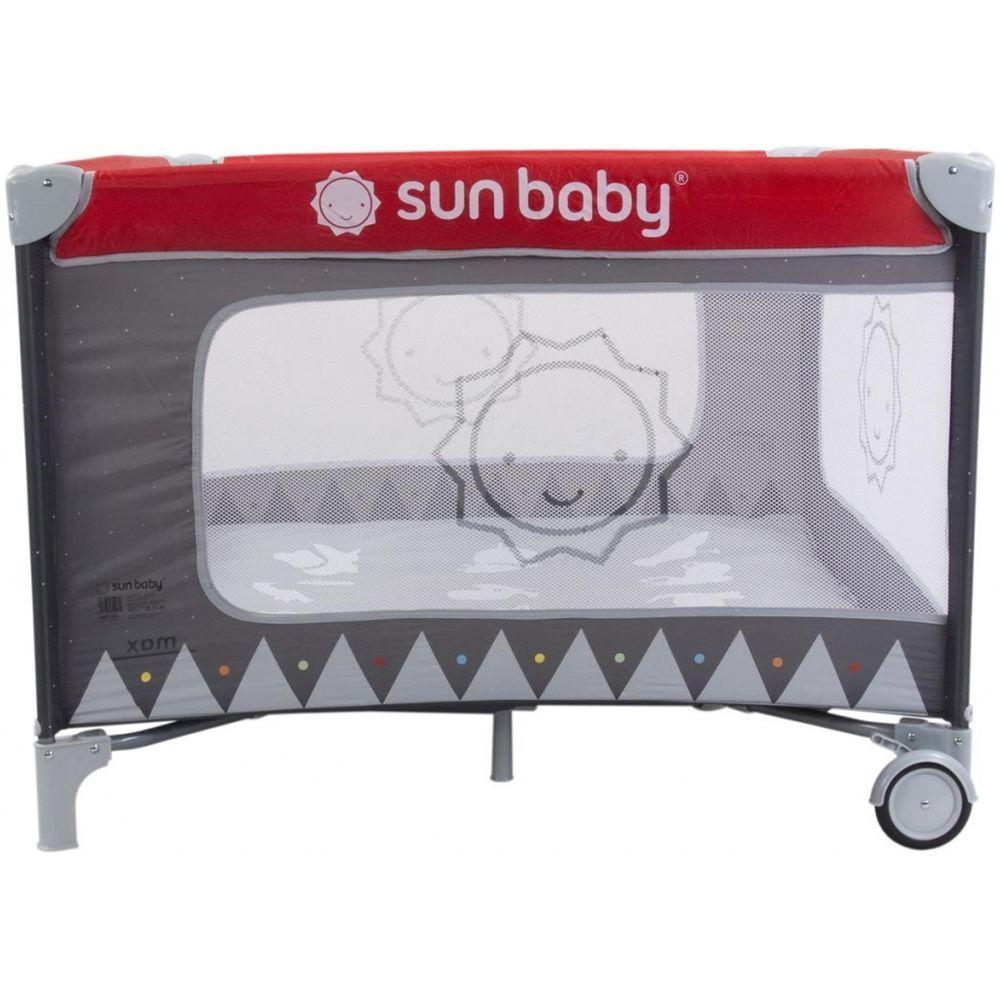 Tarc de joaca Sweet Dreams Sun Baby Rosu