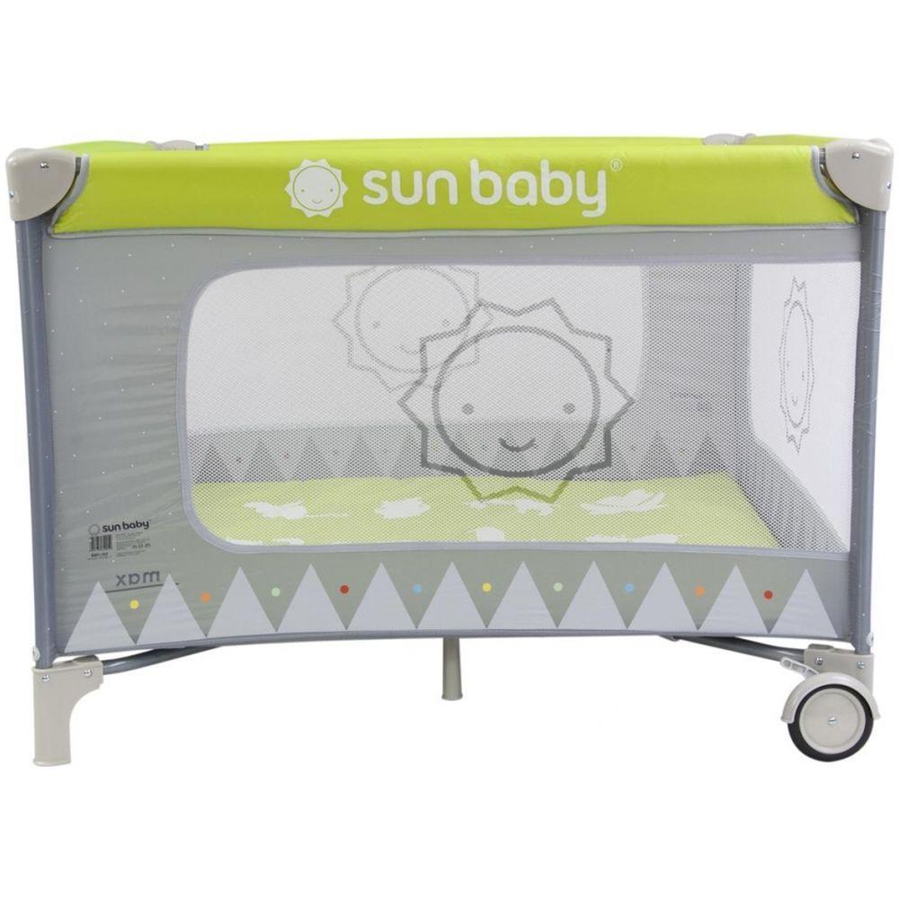 Tarc de joaca Sweet Dreams Sun Baby Verde