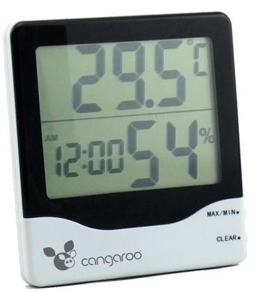 Termometru si Higrometru de camera cu ecran plat