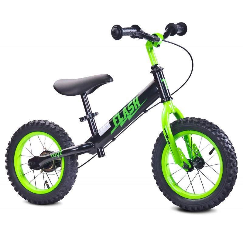 Bicicleta fara pedale Toyz Flash 12 Green