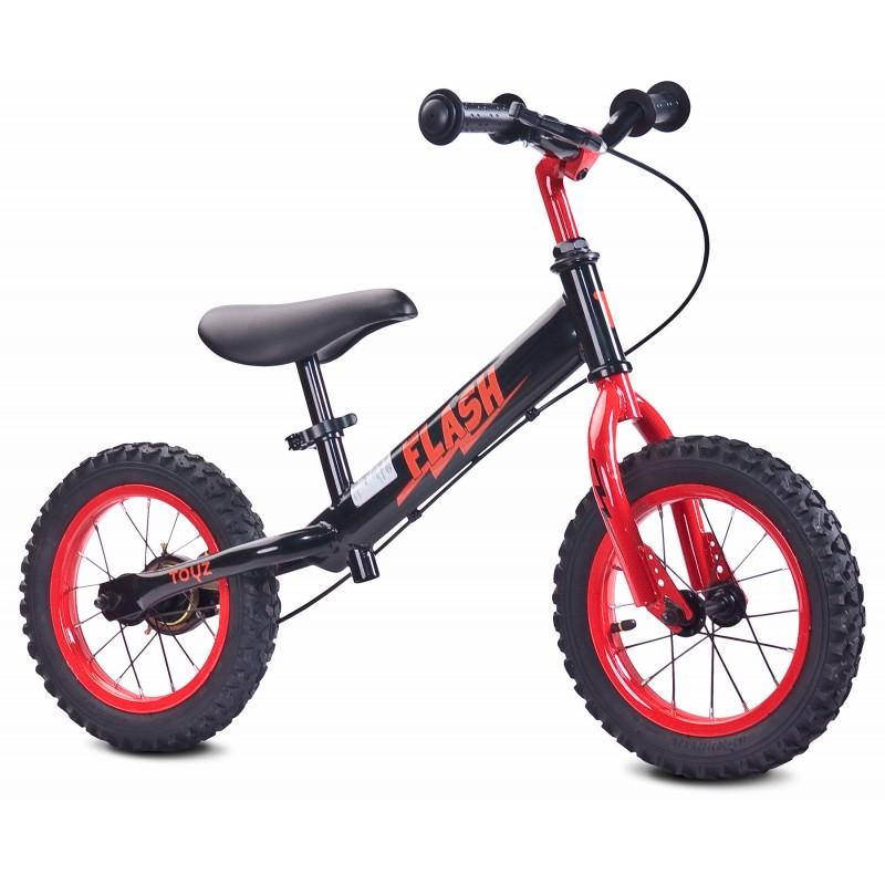 Bicicleta fara pedale Toyz Flash 12 Red