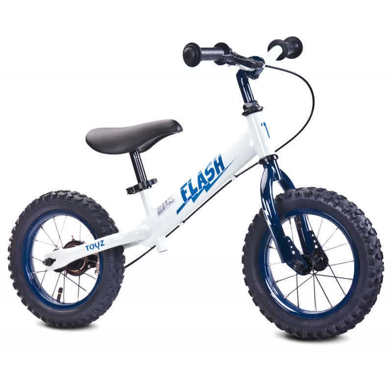 Bicicleta fara pedale Toyz Flash 12 White