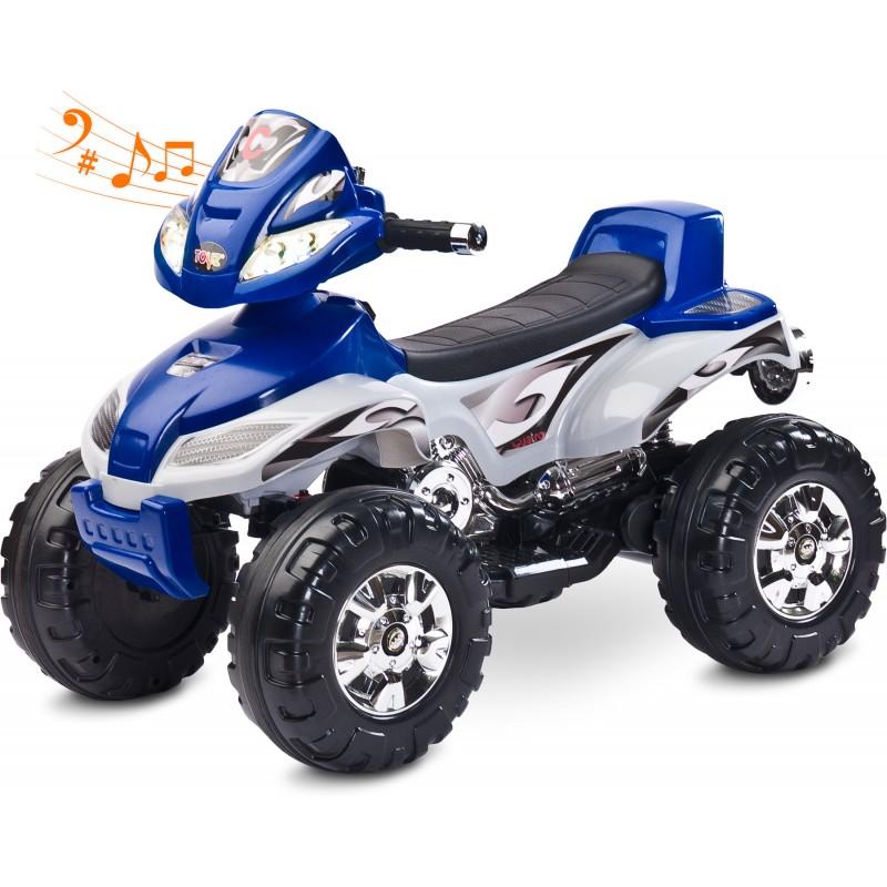 ATV Electric Toyz Quad Cuatro 6V Navy